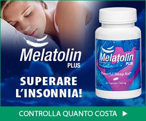 Melatolin Plus - insonnia